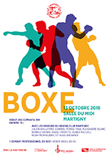 Affiche meeting du 13 octobre 2018